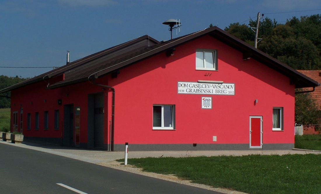 Gasilski Dom Pgd Grabsinski Breg